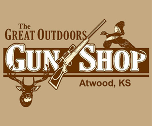 The Great Outdoors Gun Shop advertisement